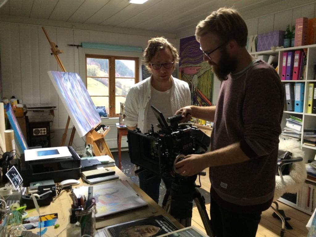 Filmopptak atelieret